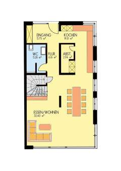 Doppelhaushälfte mit viiiiiiiel Ausstattung, Fertigstellung in 2018 - Grundriss Erdgeschoss